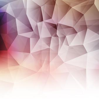 Fondo abstracto con un diseño low poly