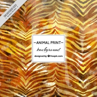 Fondo abstracto de acuarela de zebra
