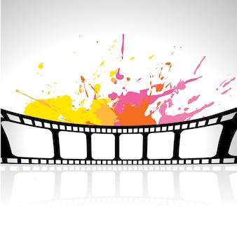 Fondo abstracto de carrete de película