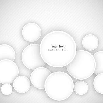 Fondo abstracto de círculos