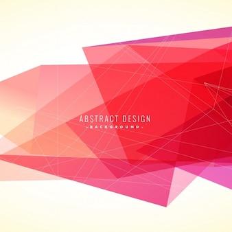 Fondo abstracto de color rosa