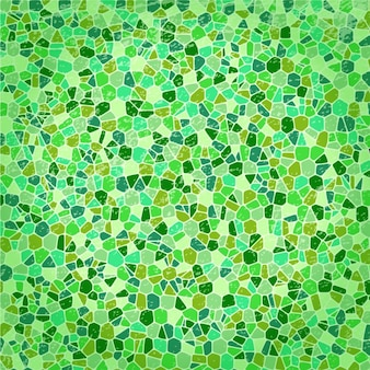 Fondo abstracto de diferentes tonos de verde