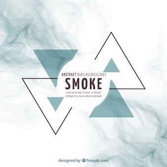 Fondo abstracto de humo