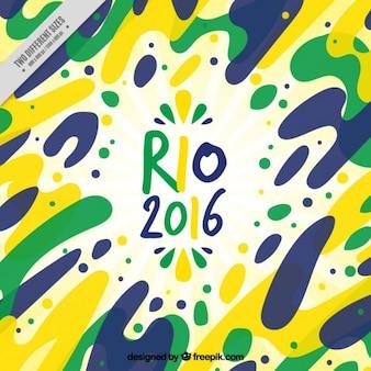 Fondo abstracto de juegos olímpicos