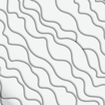 Fondo abstracto de ondas blancas