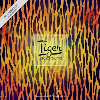 Fondo abstracto de tigre