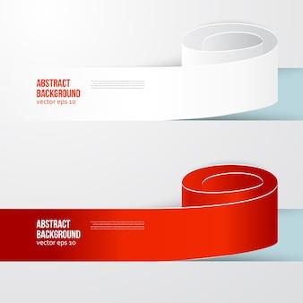 Fondo abstracto del vector. Color de la etiqueta