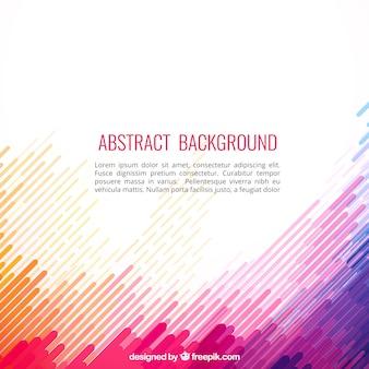 Fondo abstracto en estilo colorido