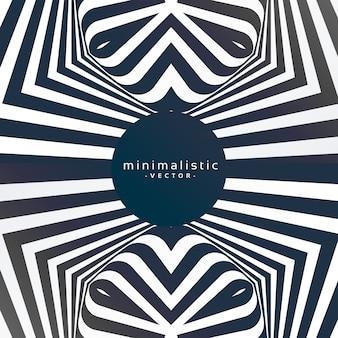 Fondo abstracto funky minimalista