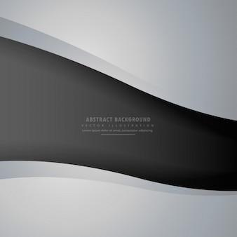 Fondo abstracto gris y negro