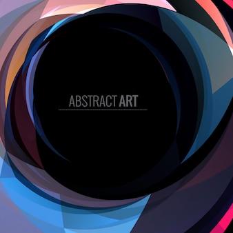 Fondo abstracto  oscuro con espacio para texto