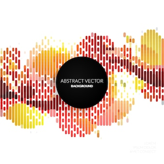 Fondo abstracto rojo y naranja