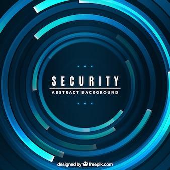 Fondo abstracto tecnológico de seguridad
