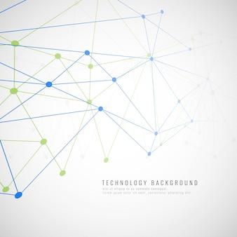 Fondo abstracto tecnológico moderno
