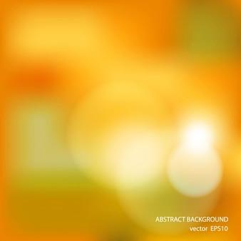 Fondo amarillo borroso con luces