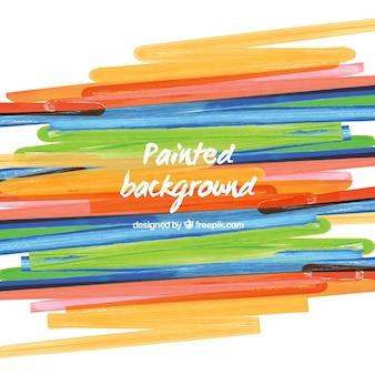 Fondo artístico colorido