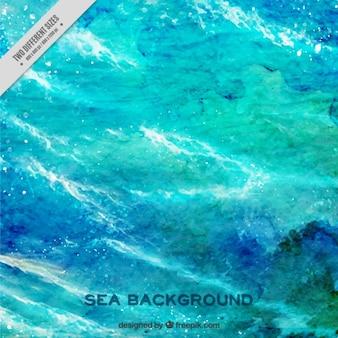 Fondo artístico de mar