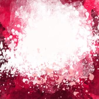 Fondo artístico rosado de acuarela