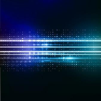 Fondo azul con líneas de luz