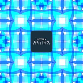 Fondo azul de patrón abstracto