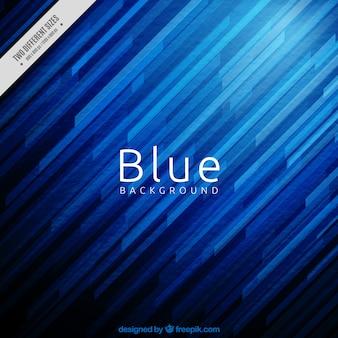 Fondo azul de rayas abstractas