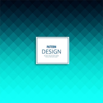 Fondo azul moderno de patrón