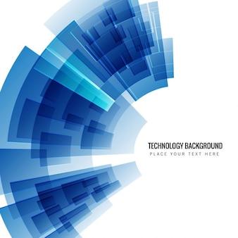 Fondo azul tecnológico