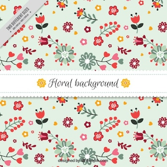 Fondo bello floral