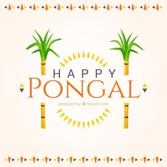 Fondo bonito de feliz Pongal