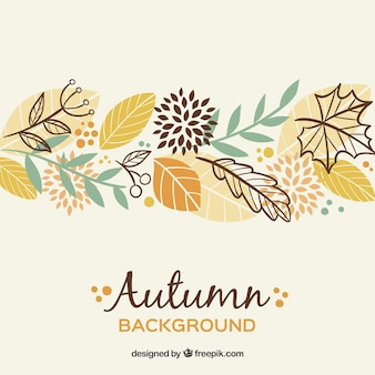 Fondo bonito de otoño