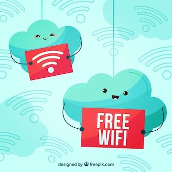 Fondo bonito de wifi gratis