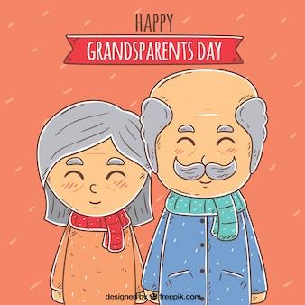 Fondo bonito del día de los abuelos