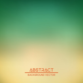 Fondo borroso verde y amarillo con formas abstractas