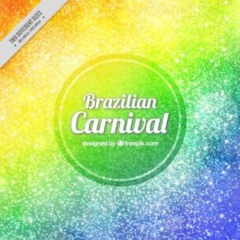 Fondo brillante colorido de carnaval de brasil