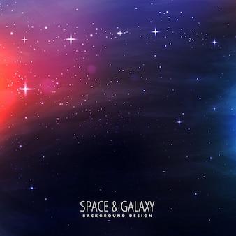 Fondo brillante de galaxia