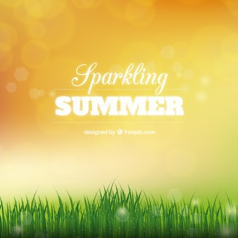 Fondo brillante de verano