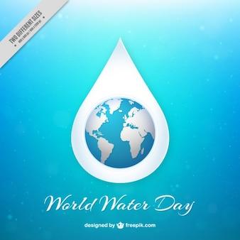Fondo brillante del Día Mundial del Agua