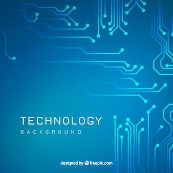 Fondo clásico de tecnología