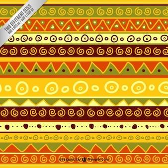 Fondo colorido abstracto étnico