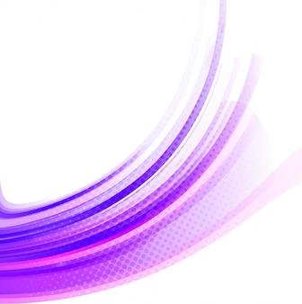 Fondo colorido moderno ondulado