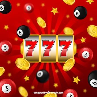 Fondo con diseño de bingo
