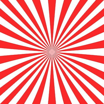 Fondo con diseño de rayos rojos