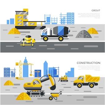 Fondo con elementos de construcción