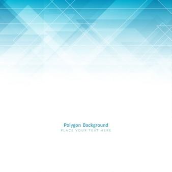 Fondo con formas poligonales azul claro