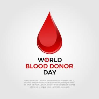 Fondo con gota de sangre