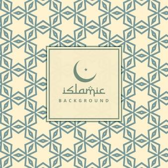 Fondo con patrón de cultura árabe