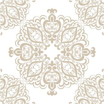 Fondo con patrón decorativo dorado