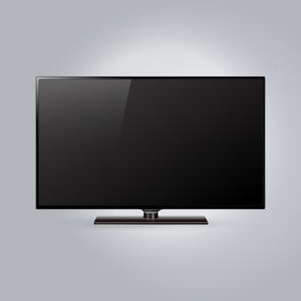 Fondo con plantilla de tv