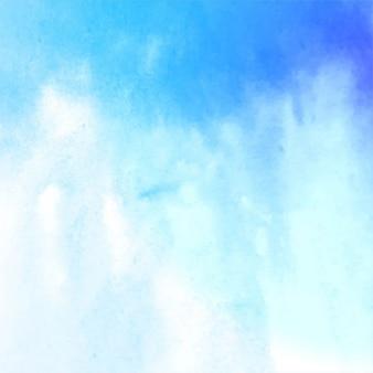 Fondo con textura de acuarela azul claro