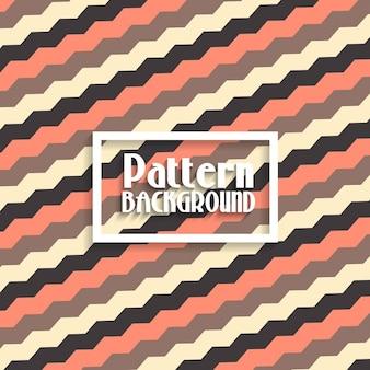 Fondo con un patrón con formas zig zag
